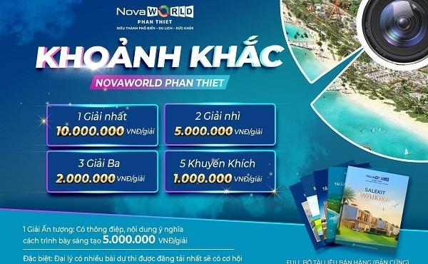 """Cuộc thi """"Khoảnh khắc NovaWorld Phan Thiet"""""""